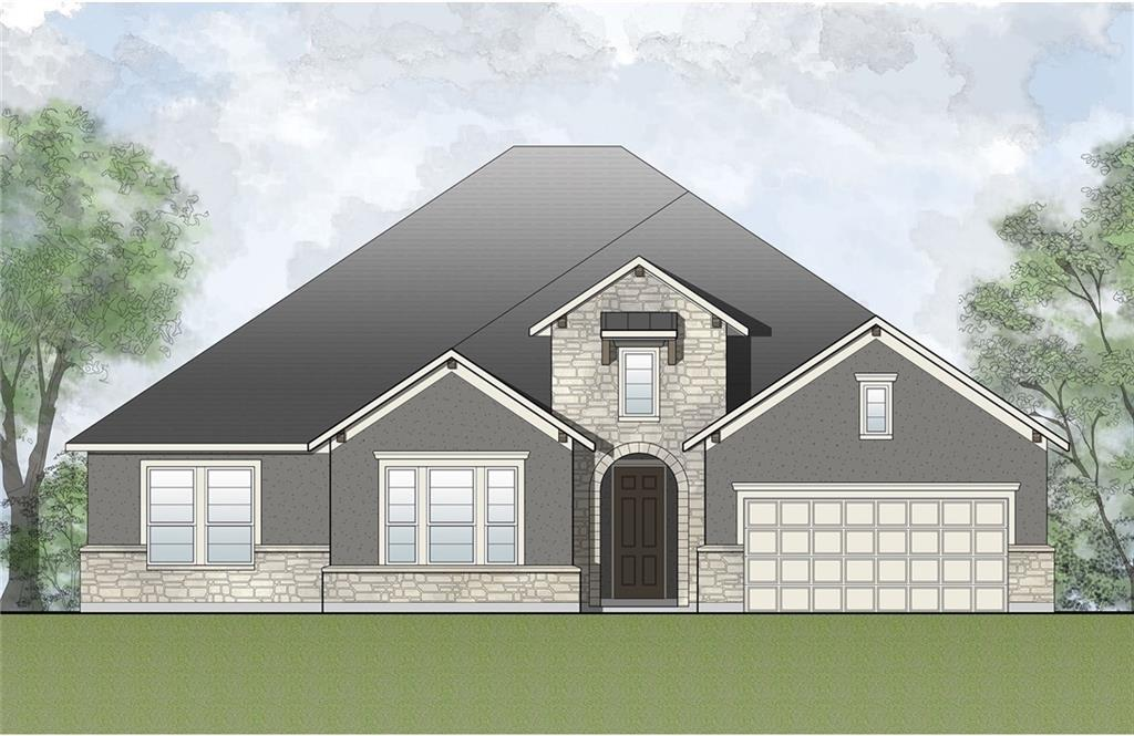 This beautiful single-story plan by Drees, the Annabelle, has the added upstairs option with gameroom!  Come see this lovely new construction home in the lovely community of Deer Haven in Georgetown!