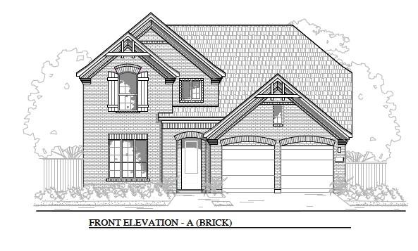 MLS# 9256242 - Built by Brohn Homes - January completion! ~ Gorgeous Brohn home with dramatic architecture in the super convenient to everything Carmel community. The beautiful kitchen is open to the family room and has quartz countertops, built-in appliances, and grey cabinets. Wood look tile grace all the main areas of the home. This stone and brick home has an enormous covered patio with a fully irrigated and sodded yard. Carmel's schools are adjacent to the community and all the amenities you desire are just minutes away.