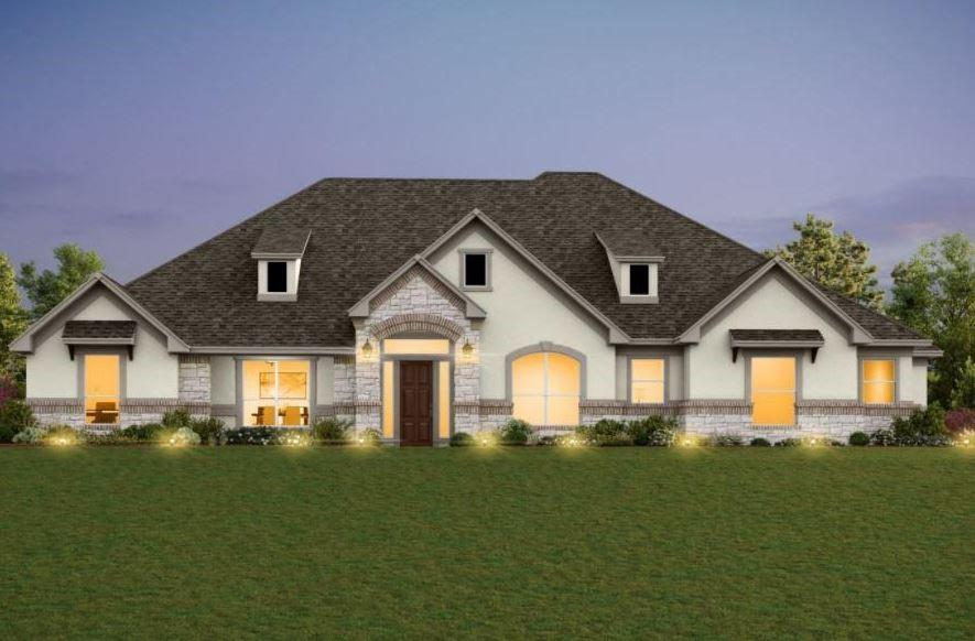 NEW CONSTRUCTION BY ASHTON WOODS! Estimated completion May 2022! We've built our award winning floor plan with popular structural upgrades and design elements on a 3/4-acre lot. Double entry doors beckon you inside to discover why this floor plan is so coveted. 16' ceilings in the great room make it a grand room! A Silestone kitchen island becomes an ideal sitting spot to enjoy company in a spacious area. Wow your guests with a lovely guest room tucked away from the main living space. An incredible owner's suite bathroom provides luxury and comfort with a double entry walk-in shower and a sleek stand alone tub. Further fulfilling your wish list is a closet for your dream wardrobe. Imagine walking out 15' sliding patio doors to your patio to enjoy a night under the stars in the serenity of Dripping Springs. It's not just a home. It's YOUR home!