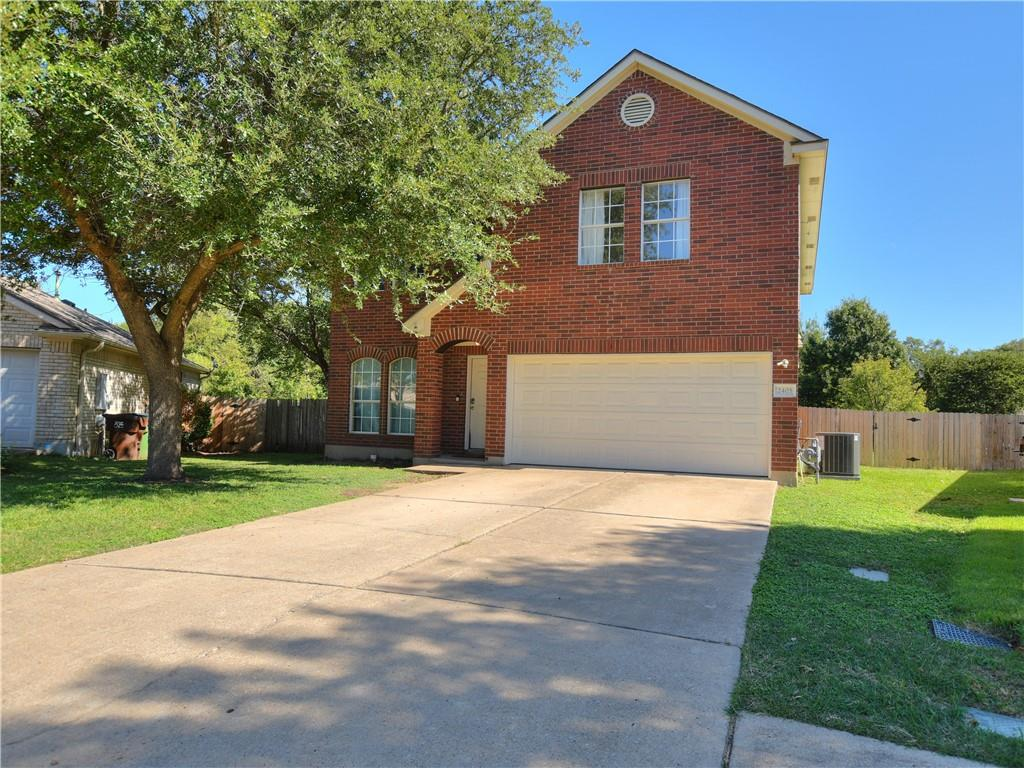Amazing opportunity to own close to half an acre in the highly sought after South Creek subdivision of Round Rock! Finding a lot like this is extremely rare and it even backs up to a greenbelt/wooded area. Sitting on a half cul-de-sac, this home features 3 bedrooms, 2.5 bathrooms, a great layout with the kitchen opening to the family room and a huge second loft area upstairs. The kitchen features a large island, tons of counter/cabinet space, a HUGE pantry, and lots of natural light. The owners suite is large with an extra sitting/office area, double vanity, separate shower/tub, and huge walk-in closet! So many possibilities with the huge backyard - excellent property for entertaining! Great proximity to Kalahari, the Domain, Round Rock Premium Outlet Mall, Dell Diamond, Old Settlers Park, Austin FC Stadium, and more! HVAC was replaced in June 2021 and the roof is approximately 4 years old. No HOA! This property is a MUST SEE!