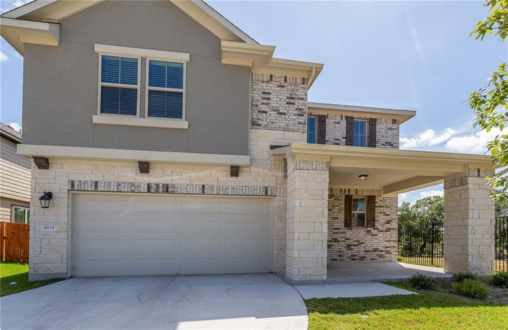 Must see 2 story contemporary house backs to the new park/lake! Private yard with trees, great natural lighting, and green view! Super convenient location off 183A and Crystal Falls - walk to rated school, and just minutes to Costco, Super Target, Super Walmart, HEB, Lakeline mall / H-Mart, and within 15 min to major employer like Apple! Has downstairs junior suite and porch/patio, tank-less water heater, SS refrigerator, W/D, and safety blinds. Ready to welcome new Owner to enjoy Austin/Leander living, and great for Investment! Go See NOW!
