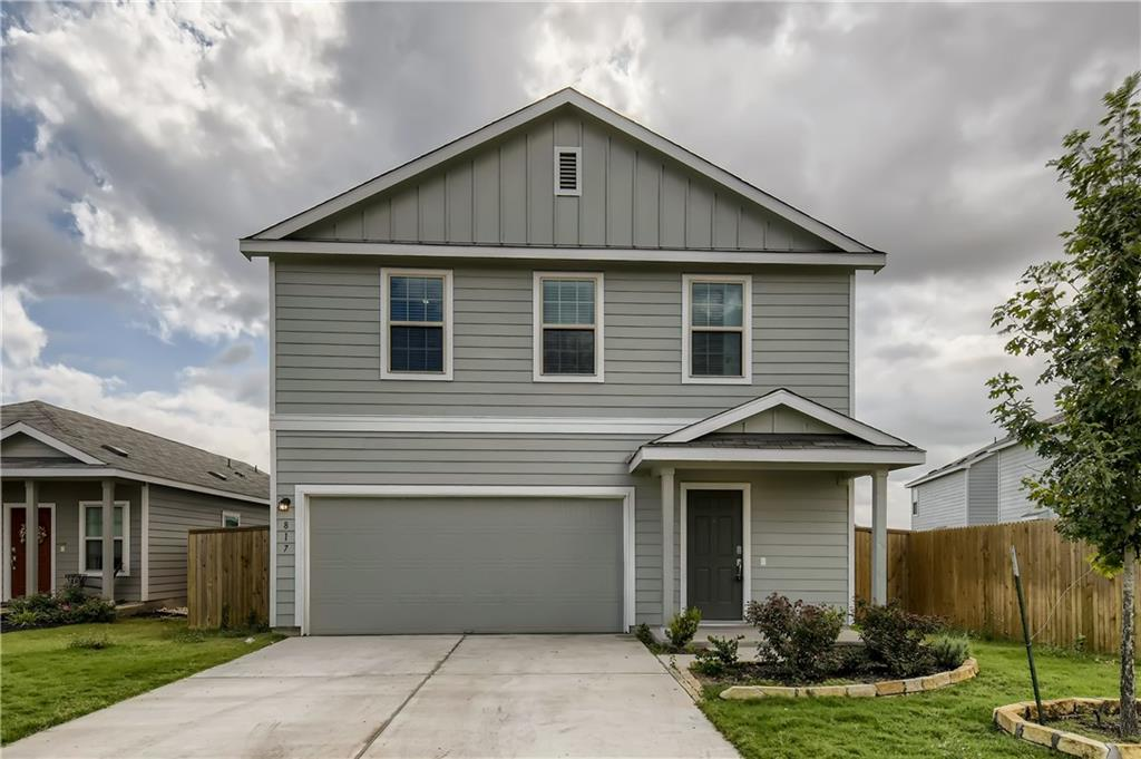 Prepare to fall in love with this charming 4 bedroom, 2.5 bathroom home in the desirable Sonterra West community! Let the glossy wood-like flooring greet you upon entry and guide you into the expansive living space. The living room opens up to the beautiful eat-in kitchen, equipped with light-blue cabinetry, stone countertops, stainless steel appliances, and a long peninsula with a breakfast bar. Enjoy relaxing in the spacious primary bedroom with a roomy closet and an attached bathroom. The additional bedrooms are generous in size, have large windows, and plenty of storage space. Spend time in the fresh air in the fully fenced backyard! This home is conveniently located near schools, restaurants, shops, and I-35.