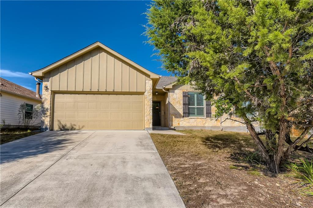 Photos coming soon. Start your next chapter in this 3 bedroom, 2 bathroom home in the heart of Dripping Springs! Enter and fall in love with the open concept living room with a gorgeous stone fireplace to warm up any night. The sizable eat-in kitchen overlooking the living area comes complete with stainless steel appliances, a peninsula with a breakfast bar, granite countertops, and a pantry with built-ins for all your storage needs. Tranquility awaits in the primary bedroom outfitted with a large closet and an en suite bathroom with a soaking tub, a luxurious tile shower, and a dual sink vanity with granite countertops. Venture outside and entertain guests on the covered back patio or enjoy the peace and privacy of the enormous fenced-in backyard. With easy access to Deer Creek Lower Lake, restaurants like Proof & Cooper, and highways like SH-71, this location has it all!