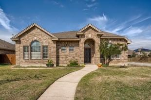 Beautiful home in Pflugerville Heights (just North of Austin)! Mother in law floor plan w/2 primary suites! One at the front and one at the back of the home. Spacious utility room with built in cabinets for storage. Tile plank flooring with newly installed carpet in the bedrooms! 2 living and 2 dining spaces. 2 car attached, side entry garage. Over-sized covered patio w/a fenced backyard and sprinkler system! Plenty of storage and stainless steel appliances in the kitchen overlooking the family room. Walk to the playground! Don't miss this beauty! Buyer's agent to verify all information.