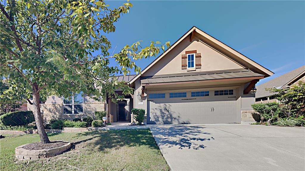 VACANT!! Don't miss out on this home in The Reserve at Caballo Ranch Residential. This beautiful 4 bedroom home is complete with hardwood floors, new carpet, granite countertops, stainless steel GE appliances, rainbird sprinkler system and a tesla charger installed in the 3 car garage. Mother in law suite has full bathroom and primary bedroom has separate vanities, garden tub, extra large shower and California style closet. Backyard has screened in porch and built in grill. Step outside to the in ground firepit perfect for those quiet evenings outside.