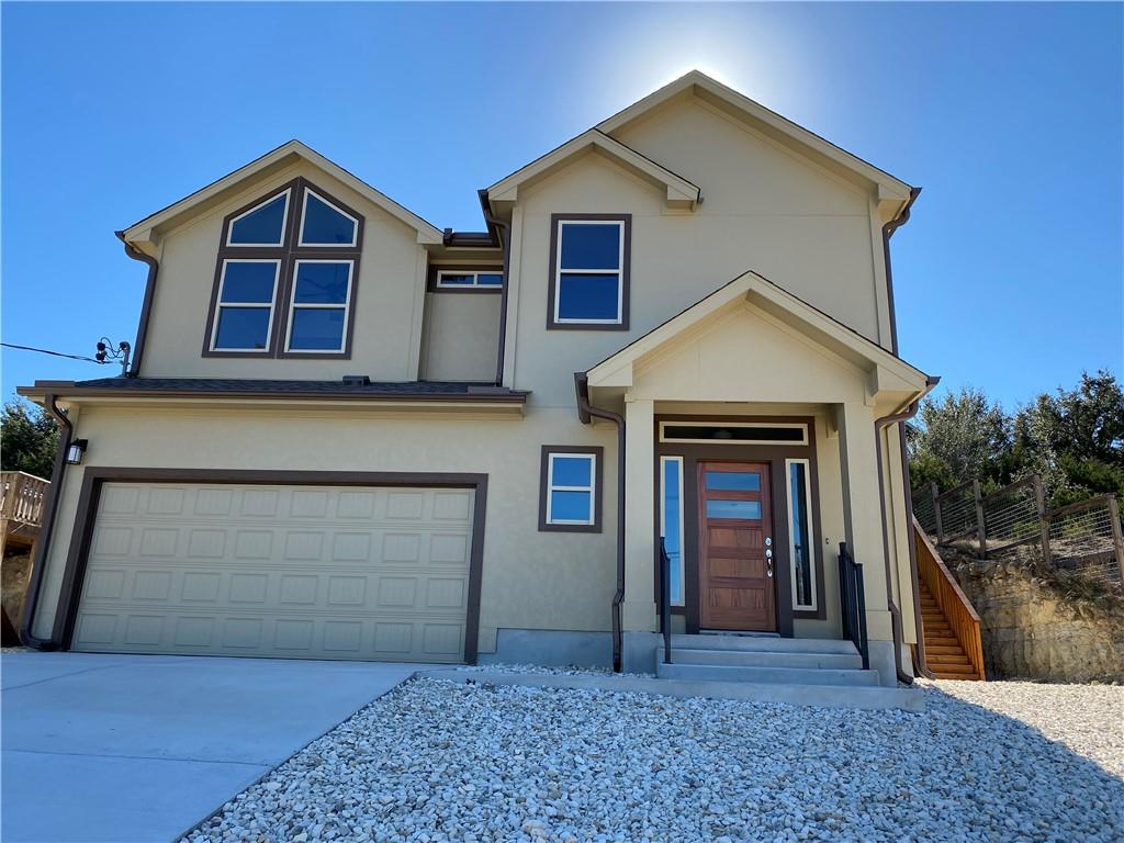 Energy Efficient detached home on view lot with 3 bed, 2 bath, 2 living areas, 2 car garage. Extremely efficient floorplan makes the home feel larger than actual SQFT. Home features scored & stained concrete floors on ground floor with rich wood floors on second floor. Quartz counters throughout, custom hand-built cabinets finished on site. Wood-burning fireplace with custom rockwork & rock mantel. Stainless steel finish appliances, Alarm system package, Cat 5 plus coax networked/central wiring panel, flat screen TV hookups in living & bedrooms. Upgraded spray foam insulation with climate-controlled attic, upgraded window package/tilt out sash, TRANE A/C Heat-pumps. Home built by one the best custom builders in the area! No HOA but there is an optional Lake Park Association that's currently $125/year to join. Association has two lakes perfect for kayaking & fishing, a kids park, sand volleyball and hiking & bike trails. Estimated completion 10/30/21