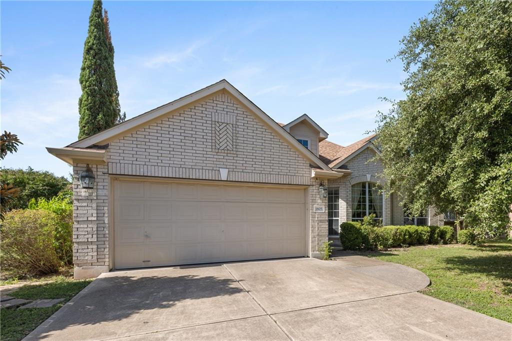 Welcome home to this beautifully updated single story home which sets on a unique oversized corner lot with tons of privacy. This home features a spacious layout with 4 large bedrooms, 2 bathrooms, a designated front office, and formal dining area. Enjoy the large open floor plan with many tasteful upgrades throughout and oversized windows with an abundance of natural light in each room of the home. The gorgeous upgraded kitchen is any homeowner's dream with luxury finishes, a spacious layout, and stainless steel appliances. The private backyard features an extended patio and many large trees providing lots of extra shade. Located within walking distance from the community swimming pool and just minutes to a variety of shopping, dining, entertainment and recreational areas. This home is zoned for wonderful schools in the highly acclaimed Leander ISD. Take note of the HUGE oversized corner lot this home sits on within the neighborhood which is a highly unique feature and adds additional privacy, value, and space. This beautiful home won't last long!