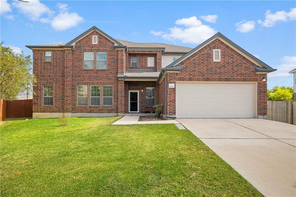 Updated Greenridge Estate Home Features: Amazing 2006 constructed 5,383 square feet 3 side brick nestled on .294 acre cul-de-sac lot on a quiet street  meticulously remodeled, and move-in ready. Two Story / 5 Bedrooms / 3.5 Bathrooms / Primary Bonus Room / 3 Living areas / Kitchen / Formal Dining / Breakfast Area / Separate Office / 2 Car Garage / Large Patio / Level Interior Lot. Elegant Home Foyer w/  vaulted ceiling & new light fixtures, new Vinyl Plank Floor covering throughout, except 3 bedrooms w/ new carpet. Well Appointed Kitchen w/ open floorplan, large Center Island, Breakfast Bar, ample freshly painted Cabinetry w/ Counter Space galore, SS Appliance, New Sink and Faucet, Large Pantry, Breakfast Area w/ new light fixture & Sliding Glass Doors, Formal Living Room w/ new ceiling fans & built-in shelves. Formal Dining Area w/ Butler's Pantry. Family Room w/ Wall of windows provides views of the backyard. Spacious Primary Suite on Main Floor w/ Ceiling Fan / Full Bath / Huge Walk-in Closet / Connected Private Suite / Office / Hobby / Nursery / 6th Bedroom Upstairs /  Primary Spa w/ Double Vanities, Garden Tub / Shower Combo. Laundry Room / Mud Room. Four Ample Sized Secondary Rooms 3 w/ Walk-in Closets & All have Ceiling Fans. Upstairs Bonus Room. Large Flagstone Patio w/ Shady afternoons. Well Landscaped .294 Acre Yard Fully Fenced, room for dog run, playground, or pool, Single & Double side gate for boat or trailer parking & Storage Shed. Two Car Garage w/ Water Softener Loop, Garage Door Opener, & Insulated Garage Door. New Roof installed 9-21, new gutters, fresh complete exterior paint, freshly painted complete interior, new water heater, light fixtures, sliding back glass door, partially new fencing, and much more Pflugerville ISD Schools: Dearing Elementary, Kelly Lane Middle, Hendrickson High School. Greenridge Community Park. Located Minutes from Hiking & Biking Trails, Parks, Shopping, Gyms and everything you could desire close by. Move In Ready