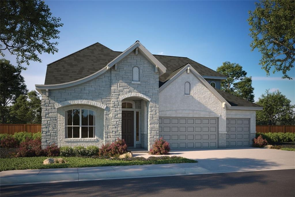 """Walk in to impressive 23' ceilings and an abundance of natural light. Kitchen features 63"""" Kent Moore Groveland Repose Gray cabinets, SS double oven, 36"""" cooktop, chimney vent hood, white quartz countertops, pearl subway backsplash. Owner's bath features free standing bath, luxury walk in shower with subway herringbone tile, two fabulous walk in closets. Wood flooring throughout. Lot backs up to seeded greenspace. Gated boutique community, luxury pool, clubhouse & playscape."""