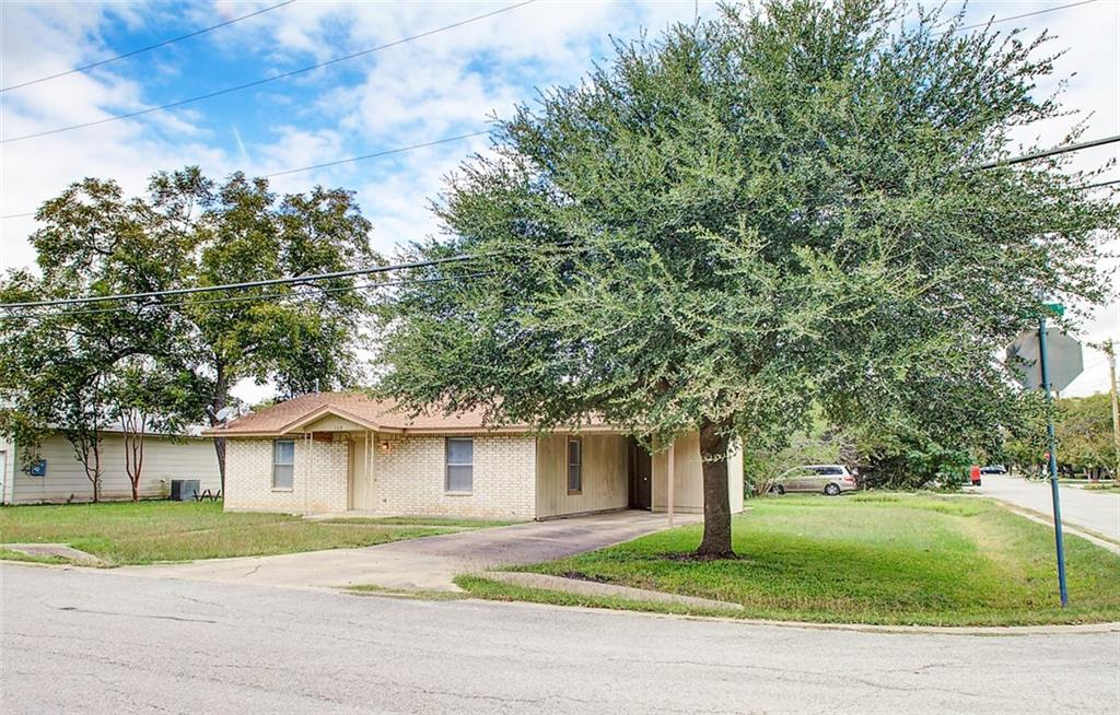 Great location close to downtown Hutto!  Cute 2 bedroom/1 bathroom house needing a little TLC.  Buyer to verify all information.