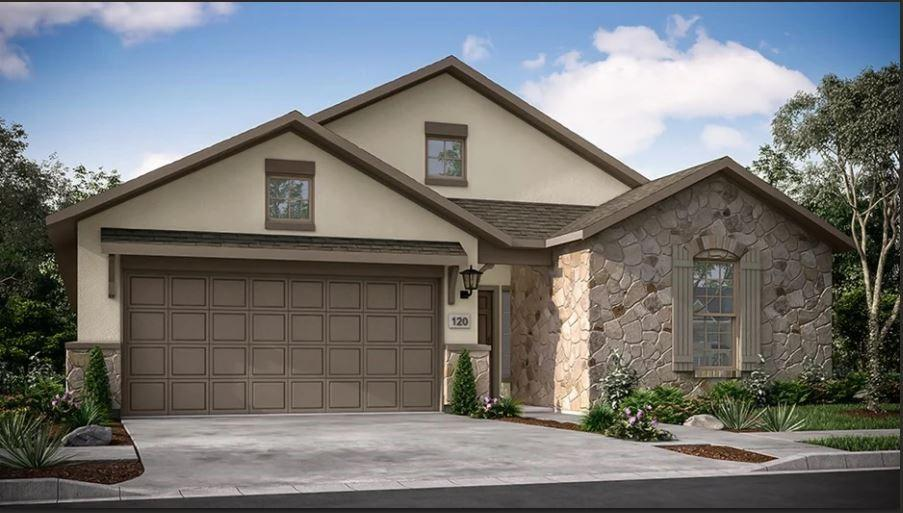 *REPRESENTATIVE PHOTOS ADDED. Built by Taylor Morrison ~ Ready July 2022! The Chambray floorplan has everything you could wish for, with the comfort of being on one level! At the front of the home, two secondary bedrooms are nestled together with a full bath conveniently placed in between. Walk through the foyer hallway to find a powder bath for guests, and a private study.  Thoughtfully designed- the open concept layout showcases a large gathering room that flows seamlessly into the gourmet kitchen and casual dining space. Located at the back of the home for privacy, the spacious owner's suite features a spa-like bath and generous sized walk-in closet. Enjoy outdoor entertaining on your covered outdoor living space. All of this plus upgraded interior design selections.  Structural options added to 4632 Modena Bay Bend include: extended owner's suite, extended patio, study, and half bath.