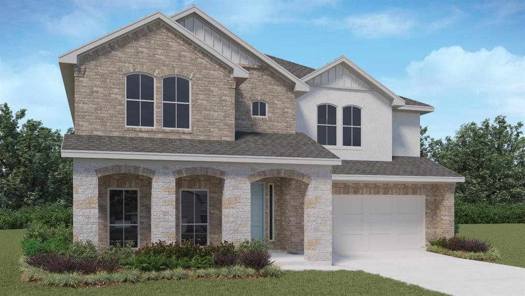 NEW CONSTRUCTION. ESTIMATED COMPLETION MARCH-APRIL 2022. The Homer is a two-story floor plan offering 2,987 sq. ft. of living space across 5 bedrooms, 4 bathrooms, and a loft.  The long foyer leads into a spacious family room overlooking the kitchen and dining area. The kitchen features granite countertops, stainless steel appliances, decorative tile backsplash and a large kitchen island.  The large main bedroom, bedroom 1, is off the family room and offers a large bath and huge walk in closet. The Homer comes with a large covered patio, professionally landscaped and irrigated yard complete with Bermuda sod. This home includes our HOME IS CONNECTED base package which includes the Alexa Voice control, Front Door Bell, Front Door Deadbolt Lock, Home Hub, Light Switch, and Thermostat.