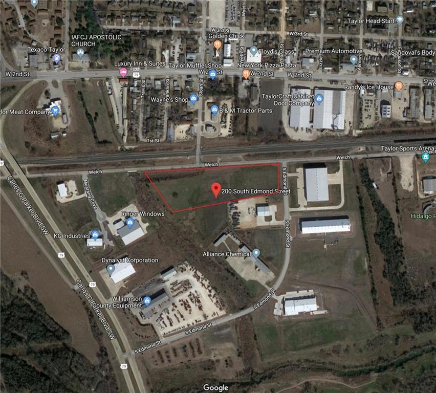 Restrictions: Yes The only large tract (10 Acres +/-) of land with industrial zoning left in the city of Taylor.  In an established business park w/ easy highway access for 18-Wheeler's just of the main frontage road. Zoning already in place so you can get the building plans started immediately for your warehouse and office suite. Great expansion opportunity for a corporation needing affordable warehouse space or a startup looking for affordability w/ reasonable taxes. Minutes from Austin the location will not disappoint.