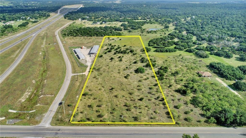 Excellent commercial corner off Hwy 195 and FM 487 in Florence, TX.  10 acres to be survey out of approx. 15 acres.  Water on-site and sewage close by.  Approx. 350 ft frontage off Hwy 195.FEMA - Unknown Restrictions: Unknown