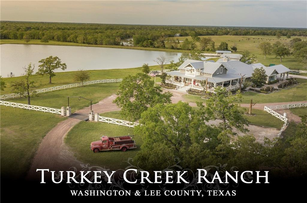 200+ ac. of high rolling hills that offers 5 ponds, Turkey Creek, high game fencing, barn, ranch-hand house and custom home located overlooking a 10 acre trophy bass lake. The home features 7 bedrooms, 7 full baths, large rooms, rustic beams and home theater. Large wrap-around porches and a patio with an outdoor kitchen and firepit. The swimming oasis has a slide and water fall, hot tub, wading area with pool side bar and pool house. Paved road frontage and situated less than 12 miles to Round Top.FEMA - Unknown