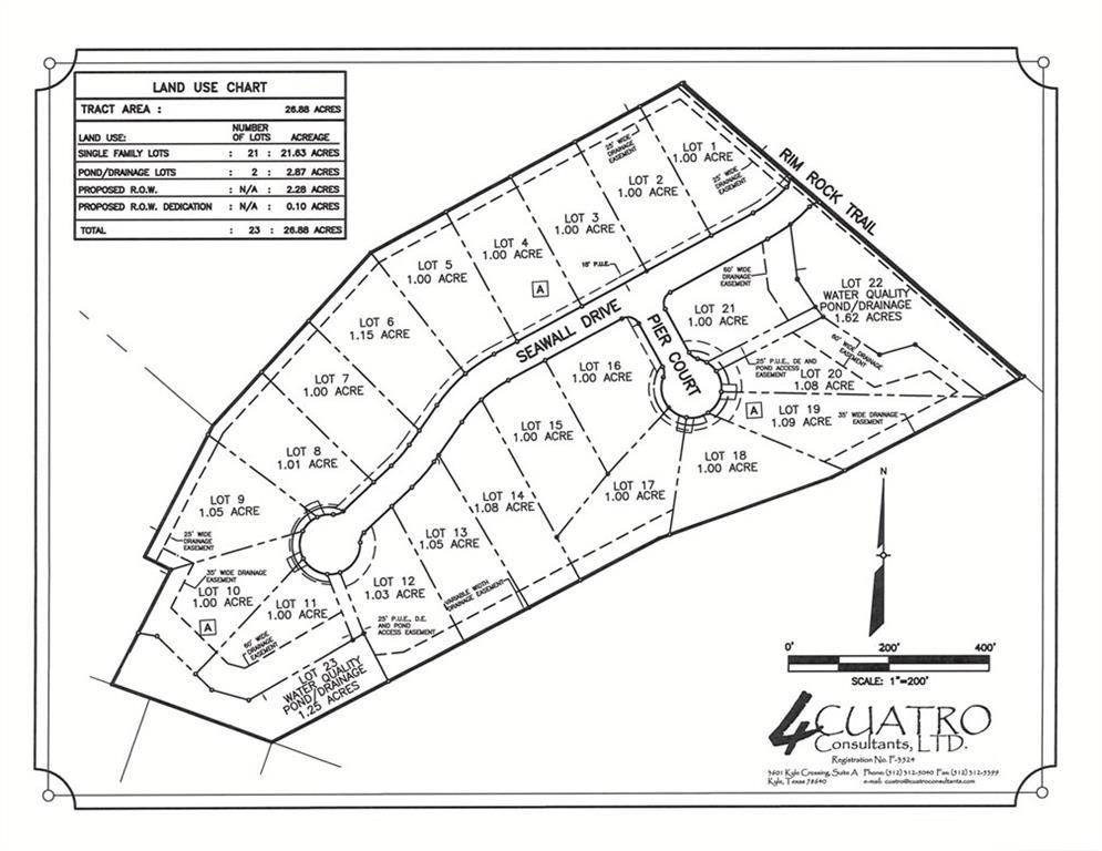 10804 Seawall DR, Travis, Texas 78737, ,Land,For Sale,Seawall,5415826