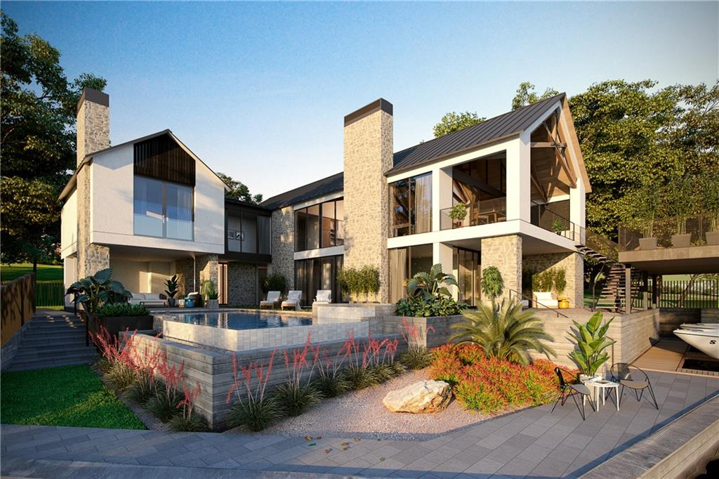 Open Water New Construction in Horseshoe Bay Proper. With expansive views and beautiful open waterfront on Lake LBJ, this modern home will delight at every turn. Offering resort-style living at its best, this clean and contemporary home is located within walking distance to the Horseshoe Bay Resort Yacht Club and amenities. This new build by Turrentine Properties, Inc.designed by Architect Jay Corder offers the ultimate in modern Texas Hill Country design, craftsmanship, and luxury living.FEMA - Unknown Restrictions: Yes