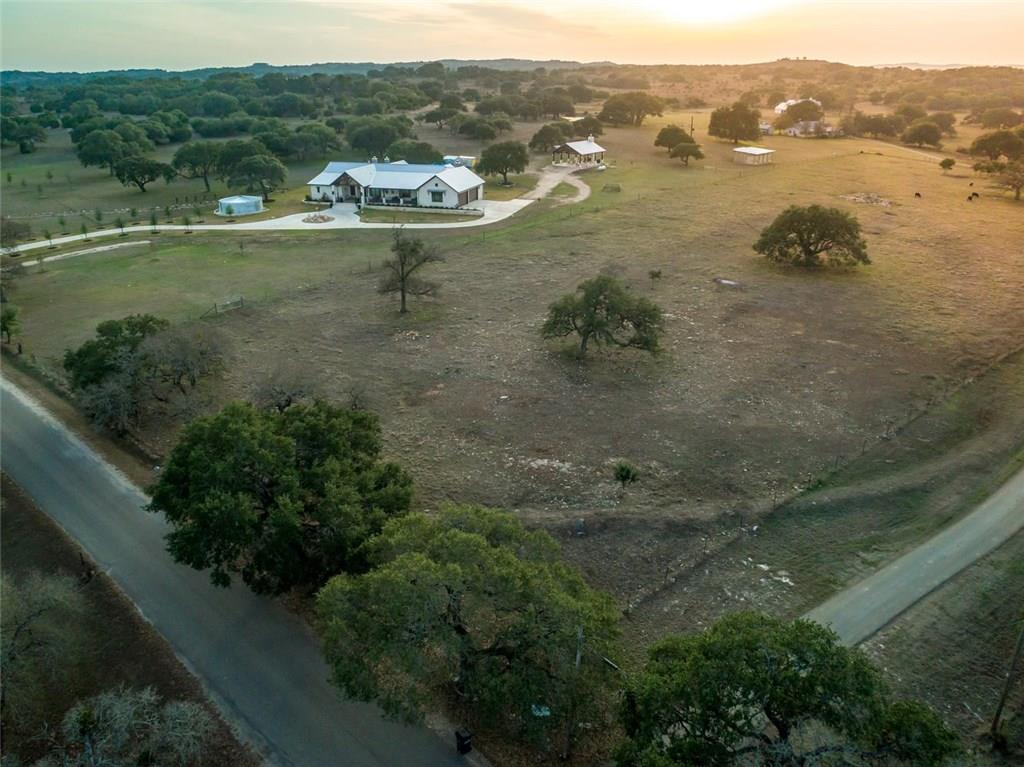 Stunning Hill Country architecture, exceptional construction & thoughtful amenities create this one of a kind Dripping Springs gentlemen's ranch. 2018 construction, 16 Acres fenced, cross fenced- Ag-Exempt. Single Story & 4786sqft w/impressive kitchen, 60-in Wolf range, sub-zero, Miele coffee center, hearth room, stunning master w/large sauna, heated tub, office, media room- Elan Smart home system, video monitoring, deep well & rainwater entertain in the 30'x40' covered pavilion, spray foam & 4 car garageFEMA - Unknown Restrictions: Yes