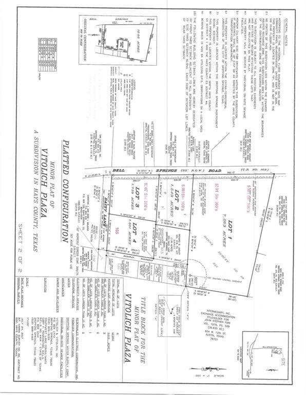Lot1 Bell Springs, Hays, Texas 78620, ,Land,For Sale,Bell Springs,8602972