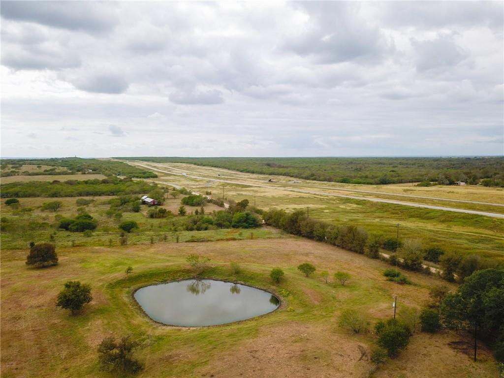The Cherry Ranch is a diverse property that would be ideal for a family home site, grazing ranch, and/or investment. Rolling terrain with a number of ponds, fertile soils, and notable elevation changes. Close proximity to Austin and Lockhart. Mobile Home.  Located off Highway 130, 6.5 miles south of Lockhart. Big West Fork Plum Creek. Scattered with small mesquites and mature Live Oak Trees. Two +-half-acre tanks. Whitetail Deer, Rio Grande Turkey, Bobcat, and dove.