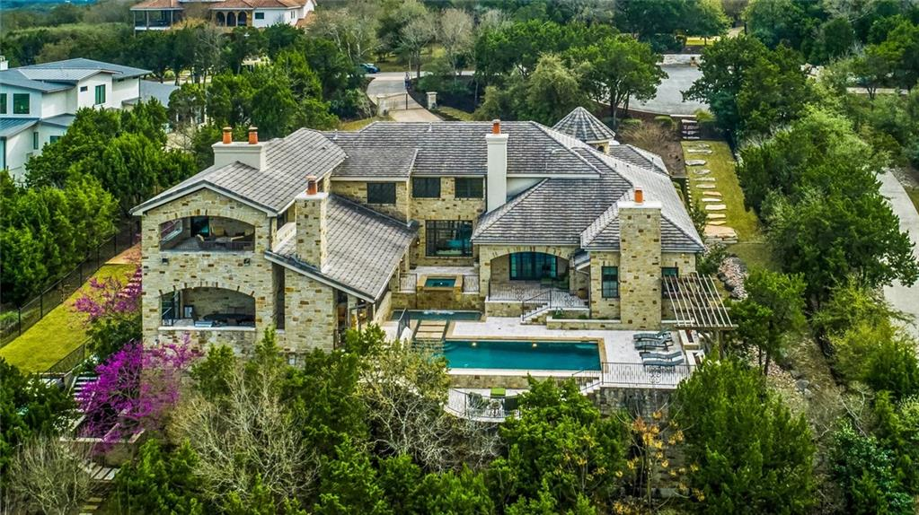 Tucked in the Hill Country's lush landscape is a gem by noted builder Brian Bailey. The French Normandy-style villa celebrates private living with convenience of proximity to dynamic city life. 5 bedrooms, 6 baths and 5 living areas with refined touches exemplify luxury. The elegant wine room, handcrafted cabinetry, master suite steam shower and an outdoor retreat with multi-tiered glittering pool, waterfall, meditative grotto, and alfresco entertaining round out the home's magnificence.FEMA - Unknown