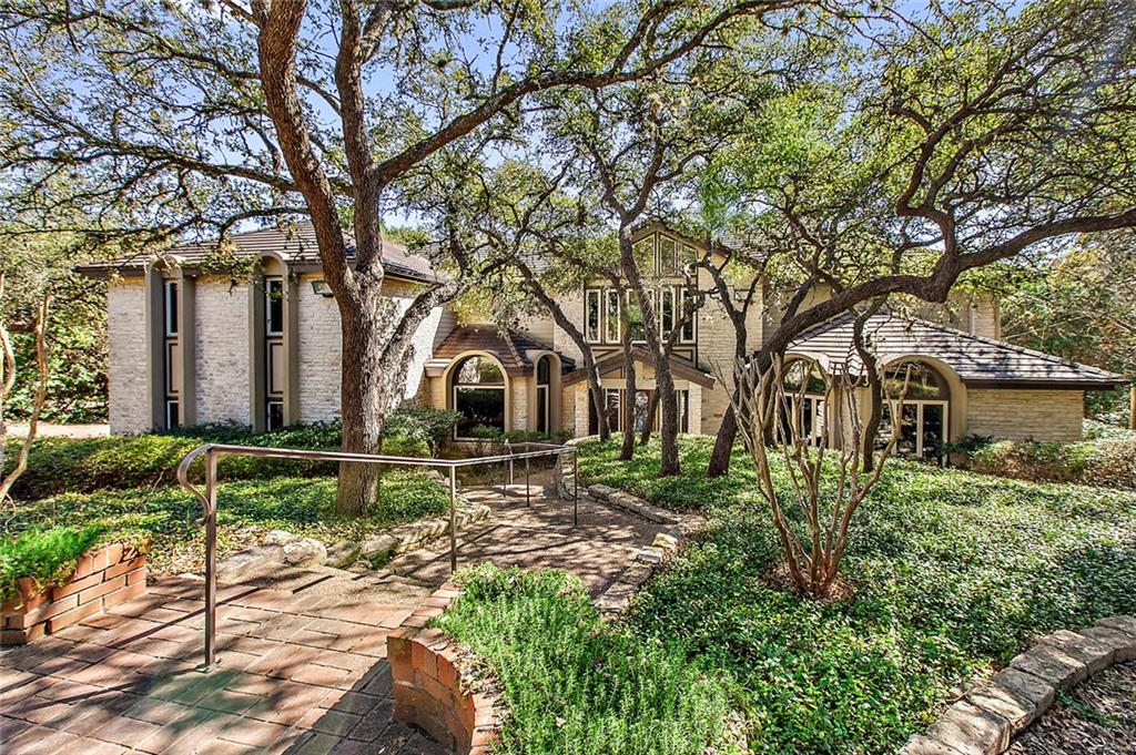 First time on market for this home in the heart of Westlake. Plenty of privacy and room to roam on this nearly 1.5 acre, heavily treed lot. Hill country vibe, yet walkable to Eanes Elementary and Westlake HS. Very livable plan with double masters (1 up, 1 down) and nanny's quarters. Concrete tile roof. Andersen replacement windows and siding approx 2010.  Room for a pool beneath the many live oaks. All of the pieces are here and ready for a new owner to breathe new life into this classic home.Restrictions: Yes