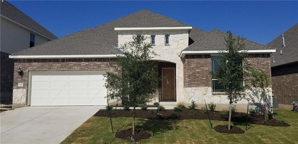 """Beautiful Yale floorplan with featured options that include large covered patio, bed 4 and bath 3 in lieu of tandem garage and flex room, """"Iron"""" stained cabinets ,vinyl plank wood patterned flooring, 3' depth to master bedroom, built in appliances that vent out, full gutters. Available Now!Restrictions: Yes  Sprinkler Sys:Yes"""