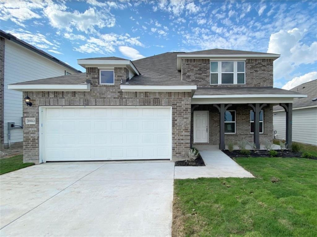 """BY APPOINTMENT ONLY! Brand new 2-story home from Ashton Woods! Available Sept 2020! Upgrades throughout include hardwood flooring, 42"""" kitchen cabinets, stainless steel Whirlpool appliances, and silestone kitchen counters. This home backs up to the hike and bike trails!FEMA - Unknown Restrictions: Yes"""