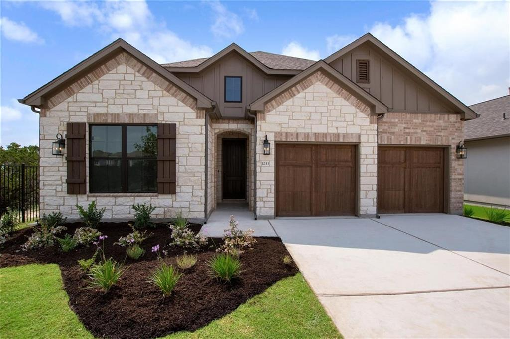 MLS# 2273762 - Built by Toll Brothers, Inc. - Ready Now! ~ Beautiful home located at the end of a cul-de-sac, next to open space with gorgeous, hill country views. Upgrades throughout to include Silestone and granitequartzite counter-tops, 36' direct vent gas fireplace with raised hearth, upgraded carpet and hardwood, 12' multi-slide door in great room and much more.