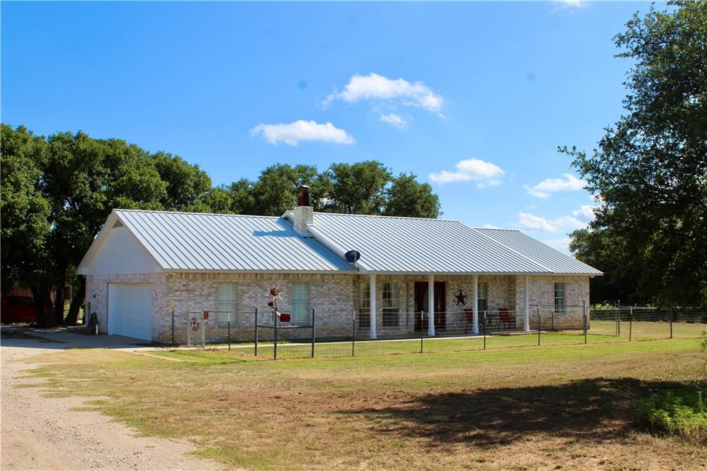 Come to Richland Springs in San Saba County and enjoy Country living at it's best! 3/2/2 brick home originally built in 1996 and nicely updated over the last few years. Some recent upgrades include stainless appliances, granite counters, flooring, metal roof, new HVAC, fiber internet line and electrical box for a back up generator. Would make a wonderful full time residence or gentleman's ranch/horse property with such features as a pond and large hay field.(Buyer please confirm all info provided)FEMA - Unknown Restrictions: Unknown