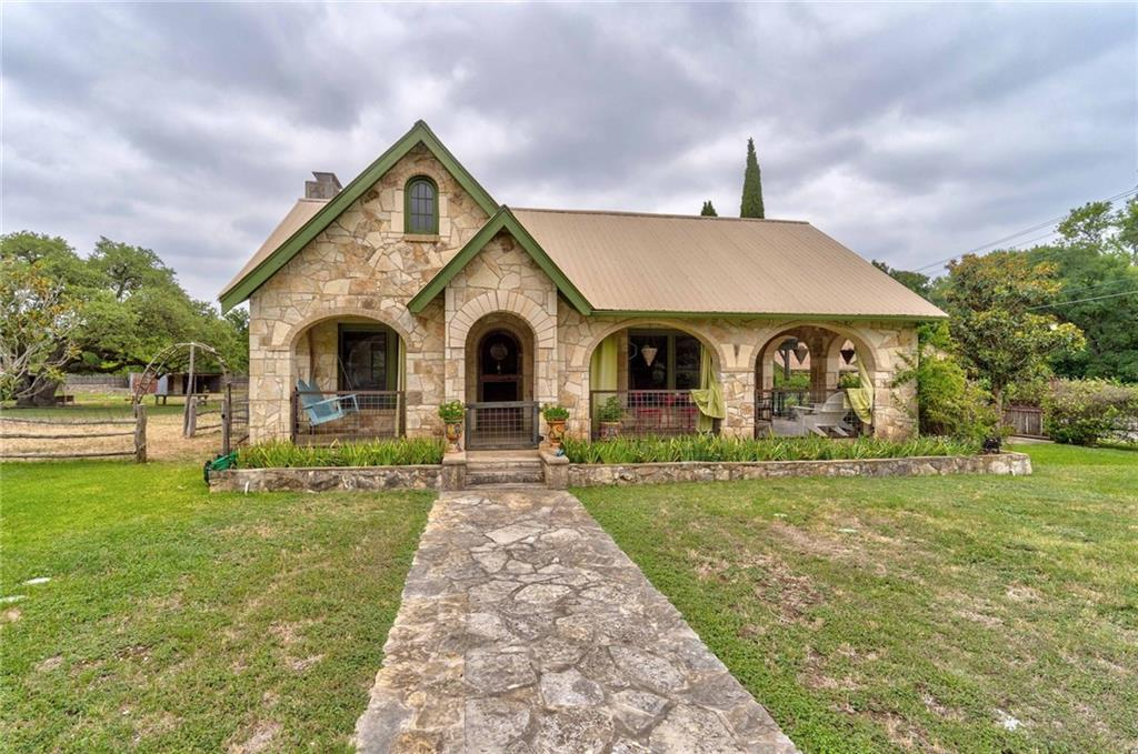 The most quaint property in Dripping Springs. This jewel is nestled in over 4 acres, right in the heart of Dripping Springs. 
