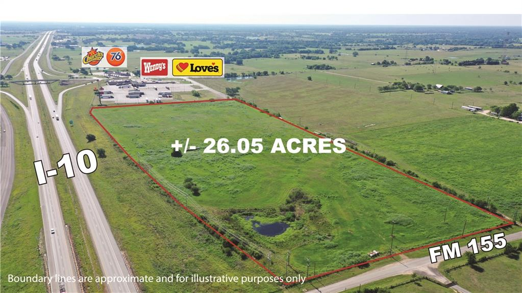 TBD (26 Acres) I-10, Weimar, TX 78962