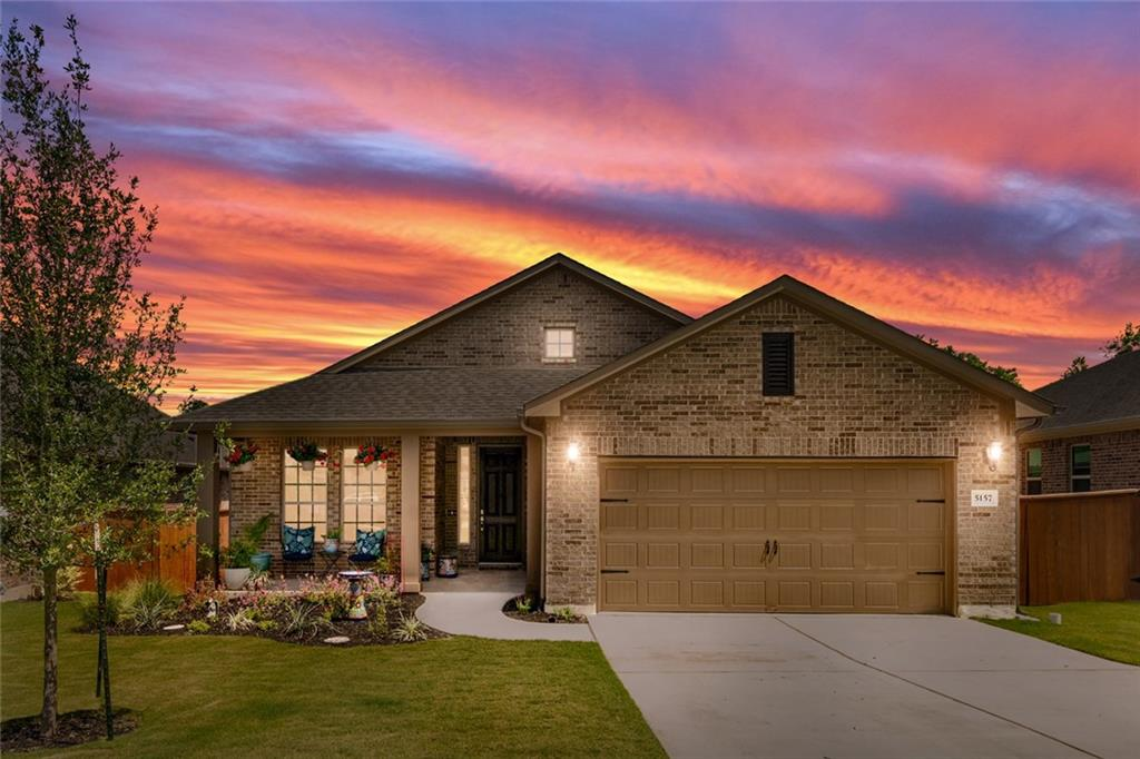 Live in one of the most desired subdivisions in Round Rock. Traditions at Vizcaya is all about amenities and includes miles of walking trails, a beach entry resort style pool, two ponds and a playground. Many upgrades and storage options have been added to this new home. No house located directly behind home for extra privacy, storage shed already added, blinds added throughout. All of your move in checklist is completed at this home with the additions the sellers have made.