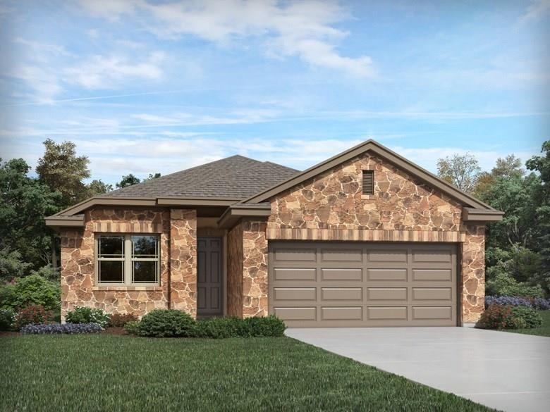 """Restrictions: Yes Brand NEW Energy-Efficient home ready Sept 2019! Open, 1-story home with expansive breakfast bar, private study, & walk-in closets.  Espresso cabinets, white backsplash, soft gray tile, salt 'n pepper counters, beige carpet & gray oak vinyl in """"Bold package"""".  A charming community offering unbeatable convenience to entertainment, shopping & major highways. Known for their energy-efficient features, our homes help you live a healthier & quieter lifestyle while saving thousands of dollars on utility bills."""