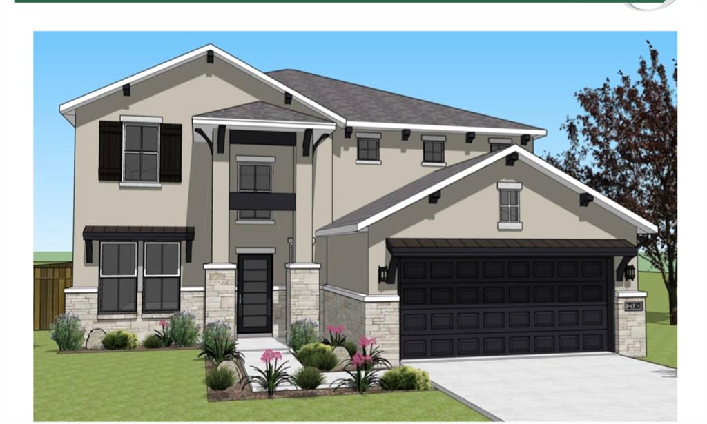 Spacious 5 bed/3.5 bath with open plan concept. Master bedroom downstairs. All other bedrooms upstairs with game room. Also has 3 car garage.