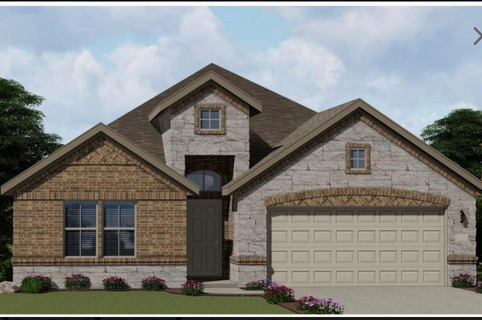 Single story with rotunda in the entry. Spacious, open concept living area. Large master suite with separate shower and tub. Two spacious secondary bedrooms. Option for a fourth bedroom, flex room, or study. Covered patio with an option for extension.