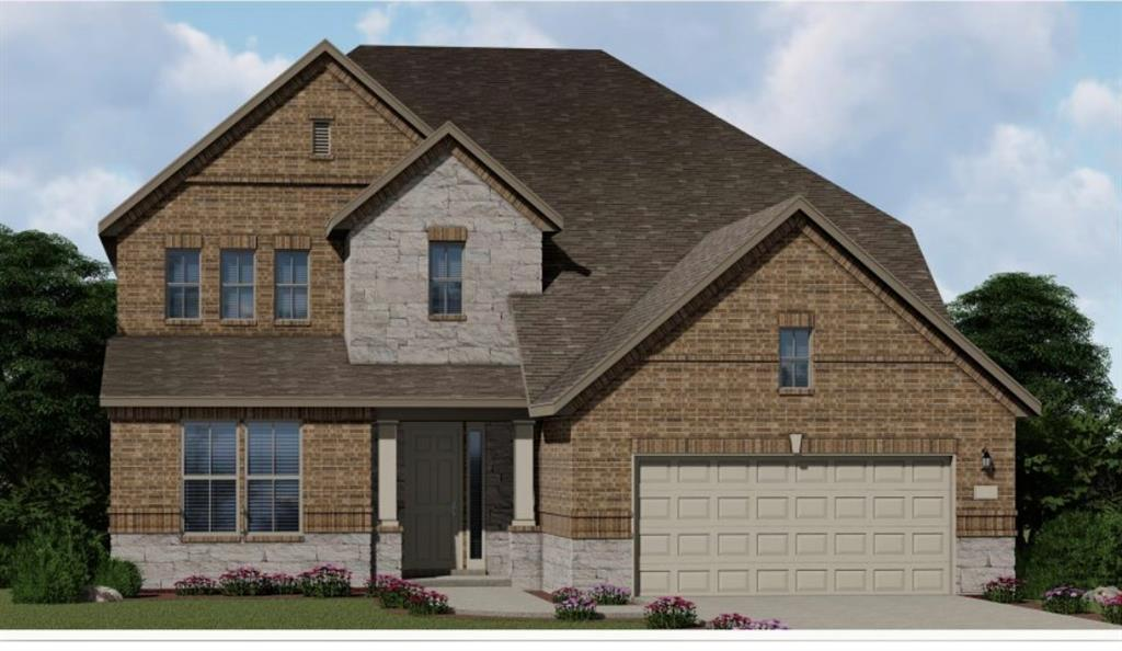 Two story, separate breakfast and dining areas, open family room, and large master suite. Upstairs spacious bedrooms with options for game room and media room. Optional patio porch and optional balcony.