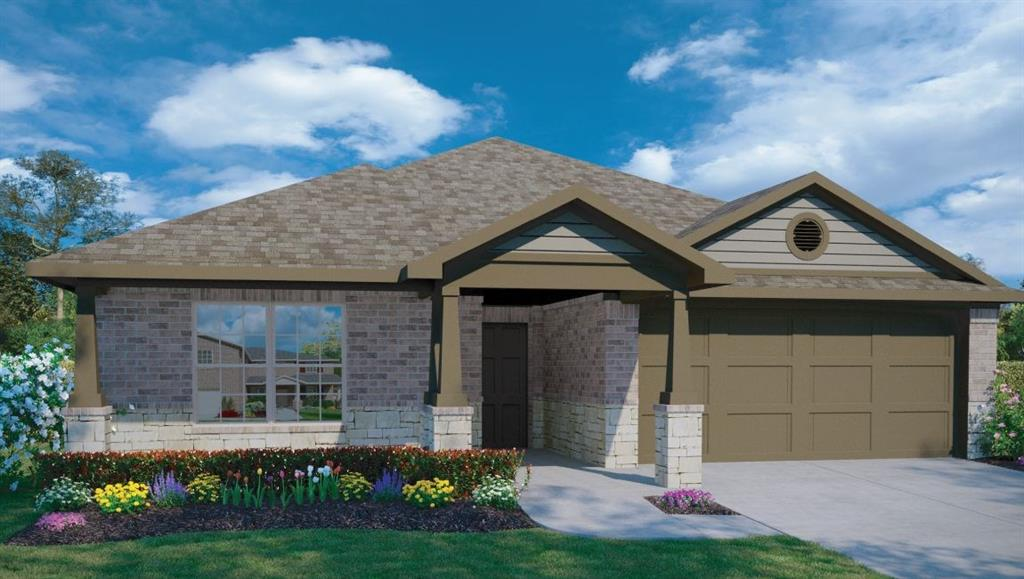 UNDER CONSTRUCTION-ESTIMATED COMPLETION TBD.  The Independence is a stunning single story home offering 4 beds, 2 baths & a 2 car garage.  After entering from the front porch, the foyer takes you to the open concept kitchen with its enormous island, perfect for entertaining & family gatherings.  The large kitchen with ample counterspace overlooks the dining area & family room.  The master retreat with its large bath and huge walk in closet is located in the rear of the home for added privacy.Restrictions: Yes