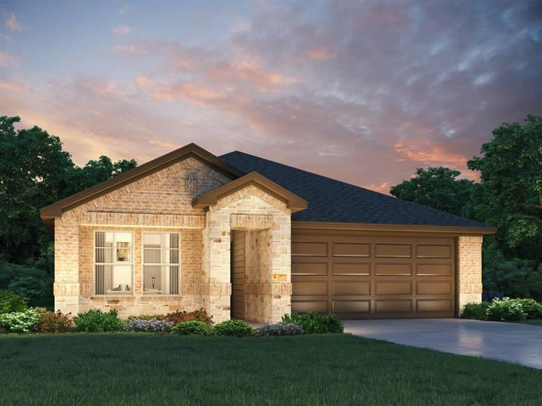 Restrictions: Yes Brand NEW energy-efficient home ready Sept 2020! The Callaghan is an open, single-story home w/ expansive breakfast bar. Private owner suite features a large walk-in closet. Linen cabinets, beige tile backsplash, creamy granite counters, greige tile, & sand colored carpet. Amenities will include a pavilion, playground, great lawn, swimming pool & splash pad. Known for their energy efficient features, our homes help you live a healthier & quieter lifestyle while saving thousands of dollars on utility bills