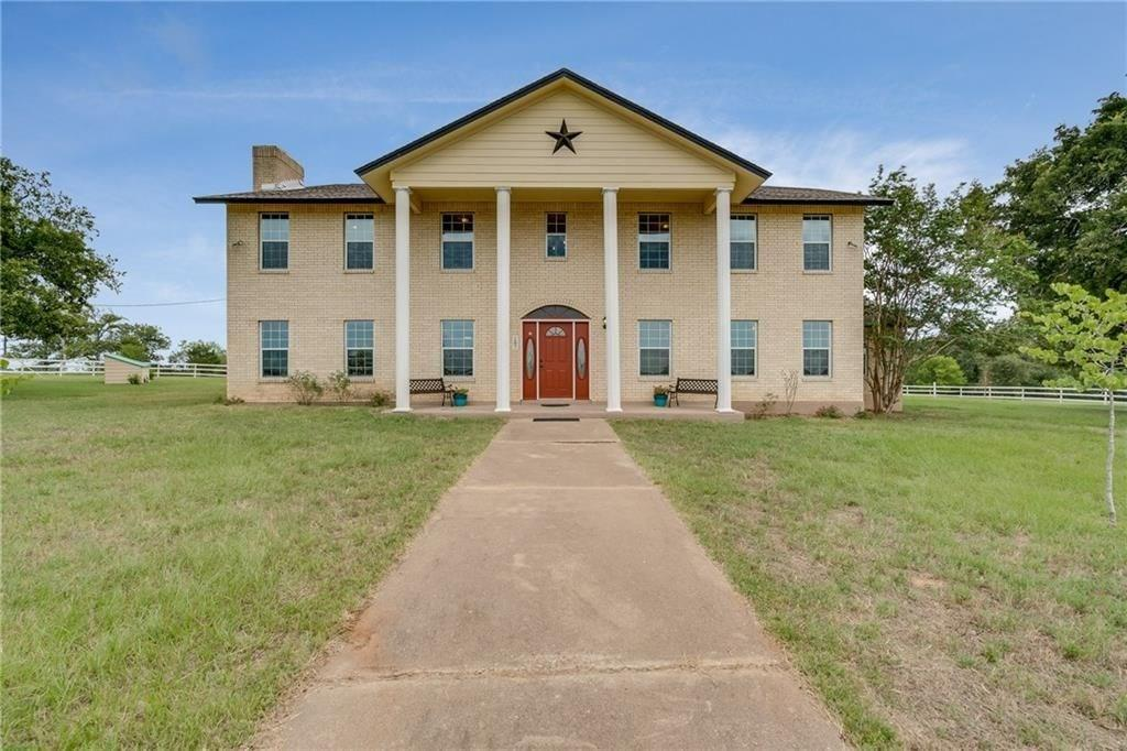 Absolutely beautiful 70 acre ranch with 5000sqft house, multiple water sources, corrals, working pens, 4000sqft pole barn, along with brand new enclosed barn. 
