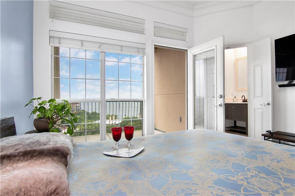 LUXURIOUS LAKE LIVING*SPECTACULAR SUNSETS*2 BALCONIES*LOTS OF TILE*GRANITE COUNTERS*JETTED TUB*AMMENITIES:2 POOLS,2 LIGHTED TENNIS CTS,WK OUT RM, DAY DOCK @ LK TRAVISFEMA - Unknown Restrictions: Yes