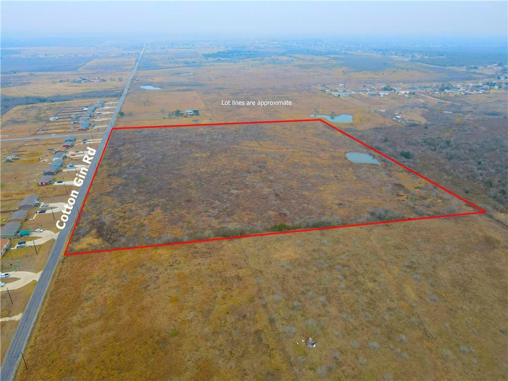 Great location for multi-family development. Apartments, 4 Plex Duplex, small lot dense subdivision. In a rapidly expanding area. Great schools, close to Austin, San Marcos or San Antonio. Cotton Gin Rd to be re-built with a continuous turn lane in 2020.  Property has already been approved by the city of Uhland and development agreement is in place to allow 4000 sqft residential lots as minimum with sewer!