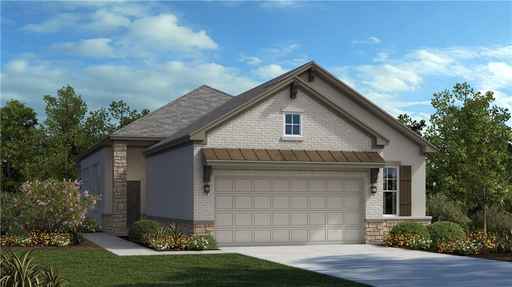 BRAND NEW Fortana floorplan featuring 3 bedrooms, 2 full baths, and oversized extended covered patio perfect for entertaining family and friends!  Gorgeous Master Suite with a Sitting Room, oversized closet and walk-in shower with mudset tile.  This floorplan is very open concept with 12' ceilings, 8' doorways, gourmet kitchen with oversized kitchen island and many designer touches throughout.