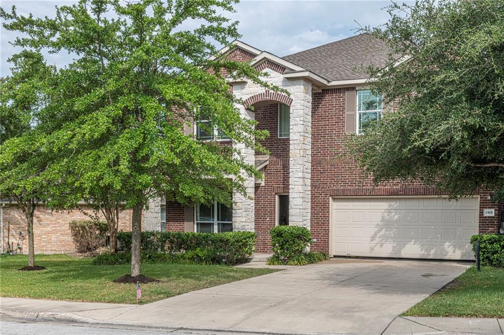Gorgeous house in Great neighborhood.  Gently used house that owner used as second home while visiting Austin so in great shape.  Nice front office, formal dining and open living-dining area with vaulted ceilings.  Large bedrooms all upstairs with second Bonus/Game room.  Cross the street to swimming pool or golf course and just a short drive to shopping.Restrictions: Yes  Sprinkler Sys:Yes