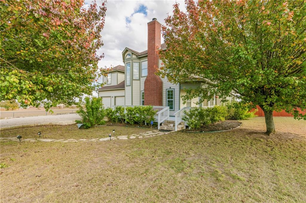 Motivated Seller! Unique one of kind find! 5-acre property overlooking country views. Cleared land w/space to add extra housing on this property. Remodeled 4 bedroom + 5th room/study, 2 living areas or converted second dining room. Wrap-around porches surround the house. Wall of French doors open to the deck. Private balcony off master bedroom. Spa-like master bath. Conveniently located 25 min to the Domain Austin & 5 min to downtown Georgetown. Possibilities are endless with this beautiful 5 acre tract!FEMA - Unknown Restrictions: Yes
