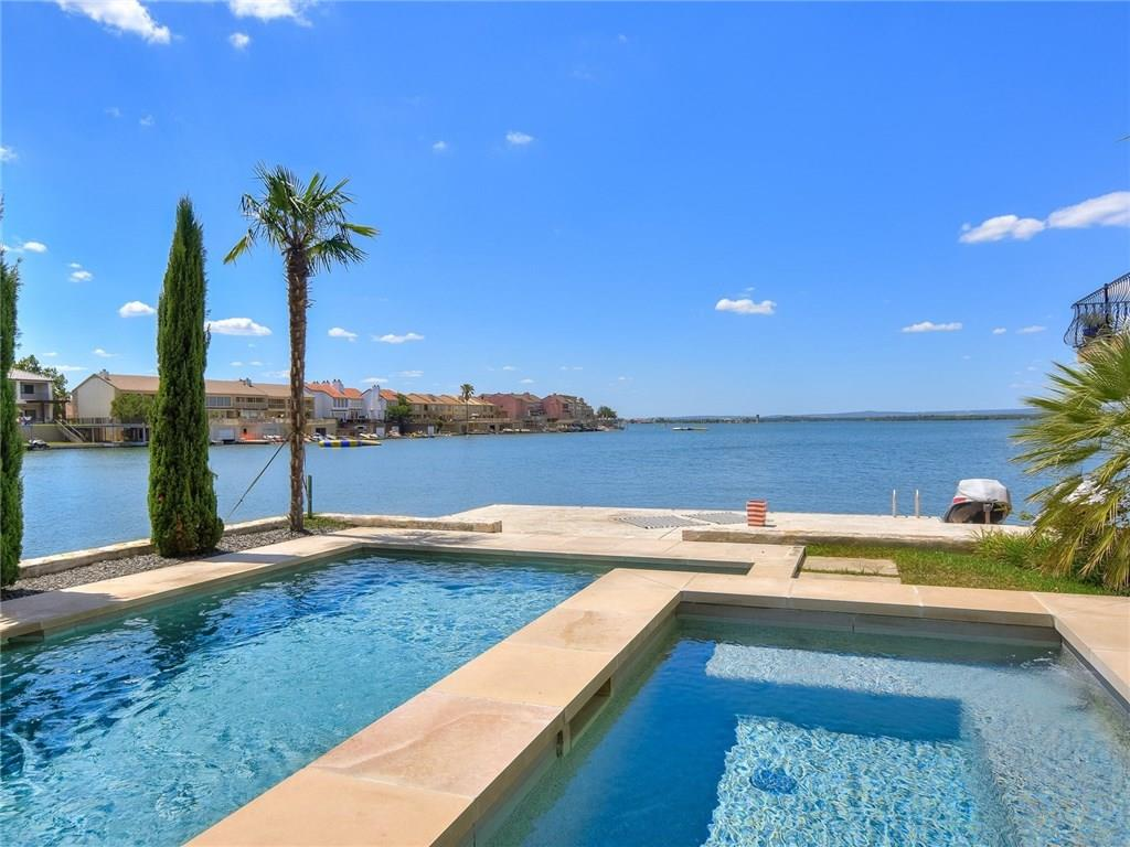 Absolutely Fabulous!!! There is no other way to describe this stunning Lake LBJ Estate!!! Recent renovation has brought this home to new luxurious standards with the highest quality workmanship in every detail! Setting the tone for this relaxing lifestyle is the stunning pool overlooking the 94' of fantastic north facing Lake LBJ open waterfront. The outdoor living space is remarkable, 3 deck areas provide ample room to entertain friends and family lakeside and the 2 large boat slips are ready to accommodate your new watercraft. The interior is to Oh So Beautiful! Luxuriously casual for perfect lake living. High-end appliances and detail throughout the 4100 sq. ft. 5 bedroom 5 bath home, featuring additional living space in the second game/living room with fireplace and wet bar. Laundry room on each level. Truly a must see when your heart desires the perfect place on Lake LBJ. Horseshoe Bay Texas is located on Lake LBJ,the pride of the Texas Hill Country outstanding waterfront activities and world class golf and resort amenities. Just 45 minutes Northwest of Austin, TX and 90 minutes North of San Antonio, TX.