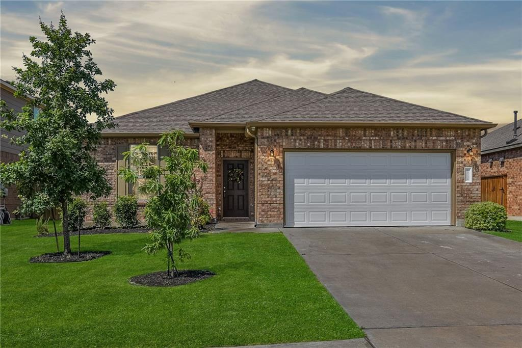 Super clean, open concept one story. Luxury vinyl flooring in the primary bedroom. Deck across the entire back of the home. Large study or media room at the front of the home.  Great amenities and schools. Location is just minutes to Toll 130, 45, shopping, restaurants, and entertainment.