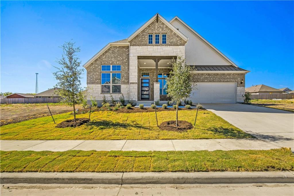 Tulane floorplan with features that include large kitchen island with granite counters, 3' master extension, large master walk in closet, upstairs gameroom, drop in tub in master bath. Available October.Restrictions: Yes  Sprinkler Sys:Yes