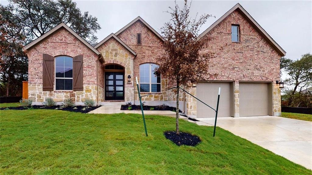 MLS# 3591856 - Built by Highland Homes - December completion! ~ Popular 213 home! Home offers soaring 13' ceilings, grand double-door entrance & mother-in law upfront. Home offers multiple areas for privacy & space including a study & entertainment room. Home offers trendy upgrades with wood tile floors throughout all common areas, white cabinets, built-in hutch & built-in appliances in the kitchen. Come see for yourself!