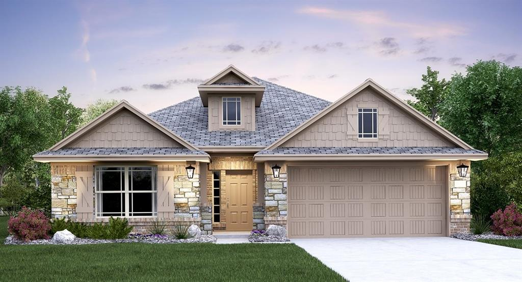 Rosso floor plan. Premier Design Package with White Cabinets, Silestone Kitchen Countertops, Stainless Appliances. Full Sod.  Full Irrigation System.  Fireplace.  2 Car Garage with opener included Est December completion. Sprinkler Sys:Yes